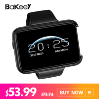 Bakeey i5S Smart Mobile Watch MP3 MP4 Player Remote Control Sleep Monitor Pedometer Camera GSM SIM Smartwatch for IOS Android