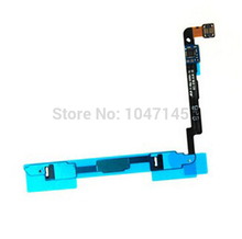 Whole Sale 10pcs lot Original New Replacement Home Button Flex Cable For Samsung Galaxy Note 2