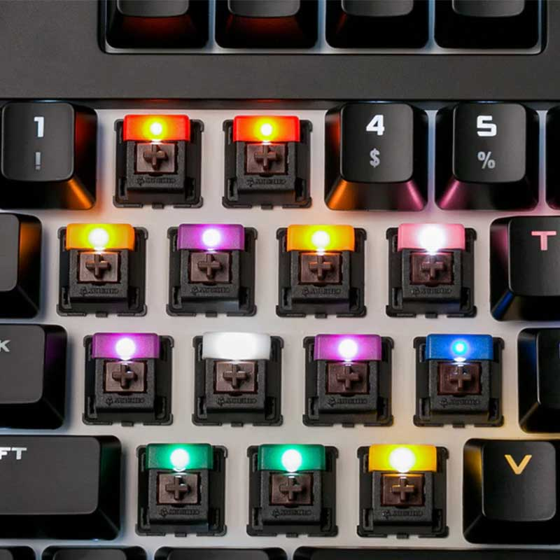 Cherry MX LED Color Changer led diy mechanical keyboard Звуковая карта