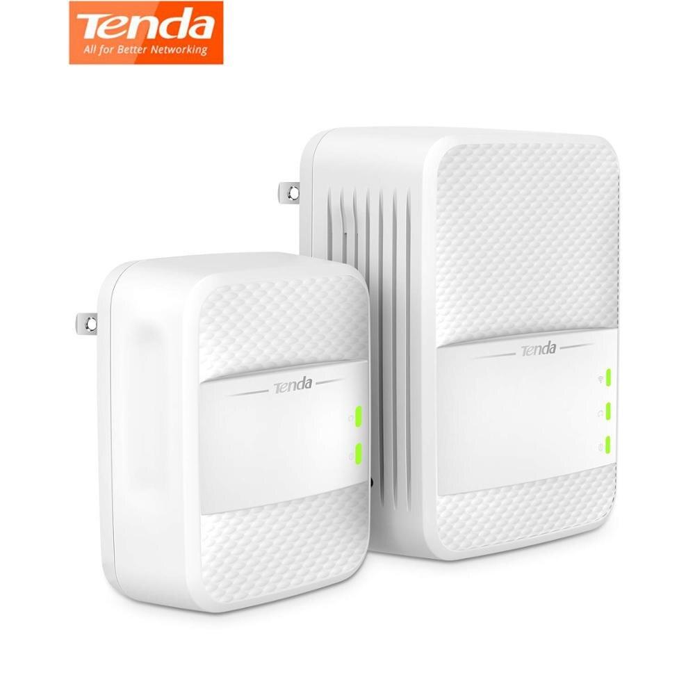 Tenda PH10 Wireless Wifi Powerline 1000Mbps KIT Gigabit 2.4G/ 5G Dual Band Network Adapter AV1000 Ethernet PLC Adapters