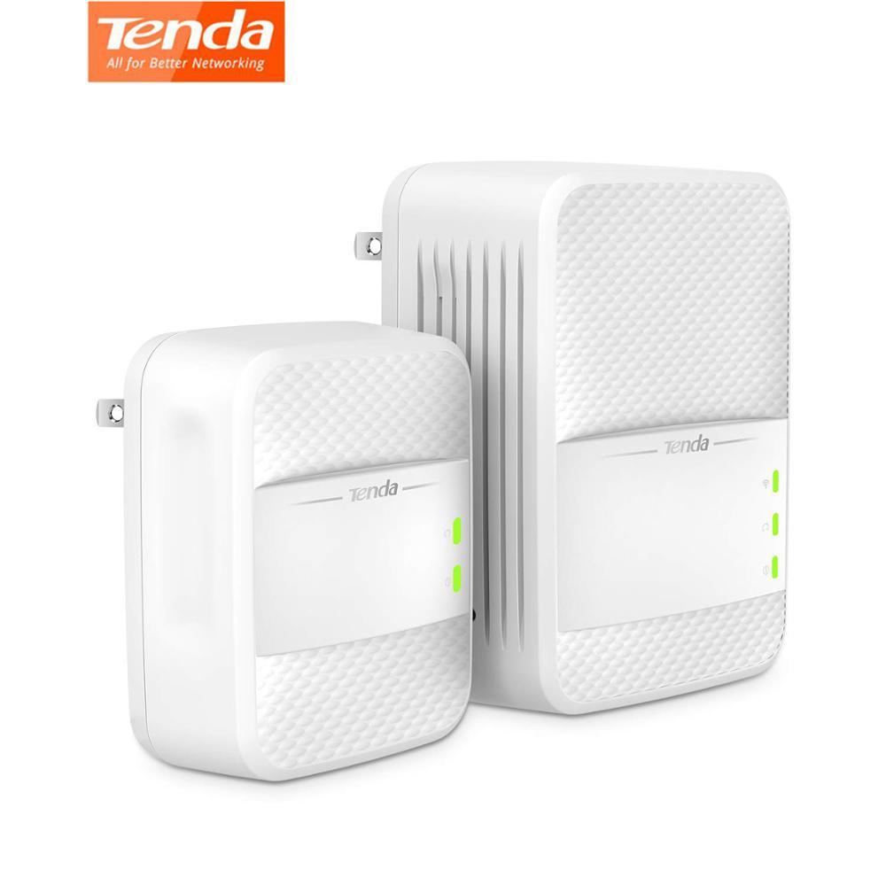 Tenda PH10 sans fil Wifi Powerline 1000 Mbps KIT Gigabit 2.4G/5G double bande adaptateur réseau AV1000 Ethernet adaptateurs PLC