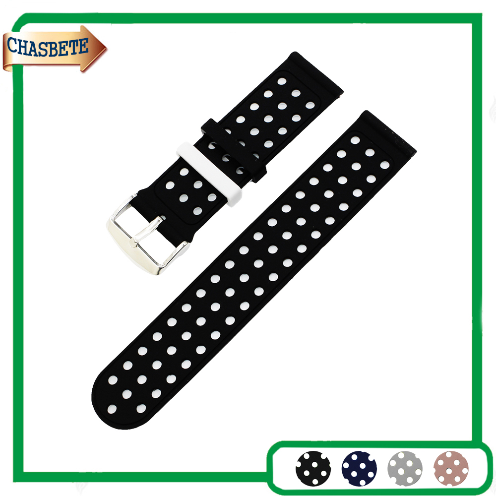 где купить Silicone Rubber Watch Band for Seiko Watchband 18mm 20mm 22mm Men Women Resin Strap Belt Wrist Loop Bracelet Blue Black + Tool по лучшей цене