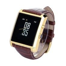 Bluetooth Smart Uhr Männlichen Sport Pedometer Schlaf-monitor Smartwatch für Android IOS Kleinpaket