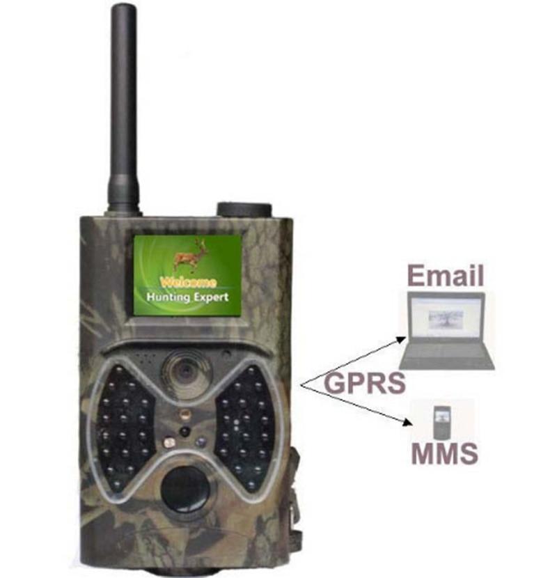 Digital font b Hunting b font Trail Camera Wildlife Camera Trap Night Vision GPRS MMS IR