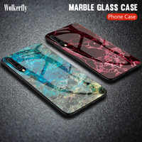 Gradient Marble Glass Case For Samsung Galaxy A50 A70 A20 A30 A40 A70 A80 S10e S8 S9 S10 Plus S20 Ultra Note 9 Cover For A51 A71