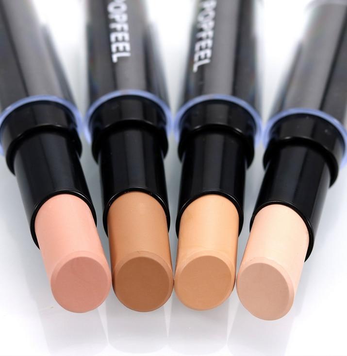 Nueva aurelife marca color de la mezcla Antiojeras pluma maquiagem para cosmética Kit