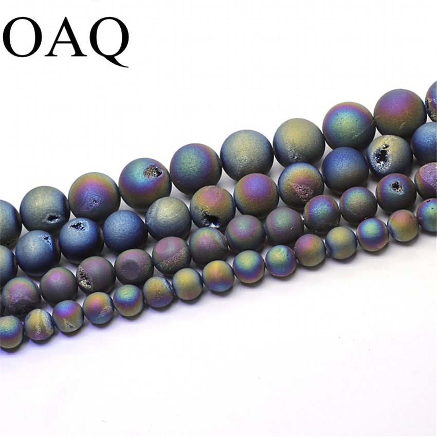 Colorful Natural Beads For Jewelry Making Round Stone Wholesale DIY Necklace For Women Presents Gift Hot Selling Cornelian Beads stylish beads round layered link design necklace for women