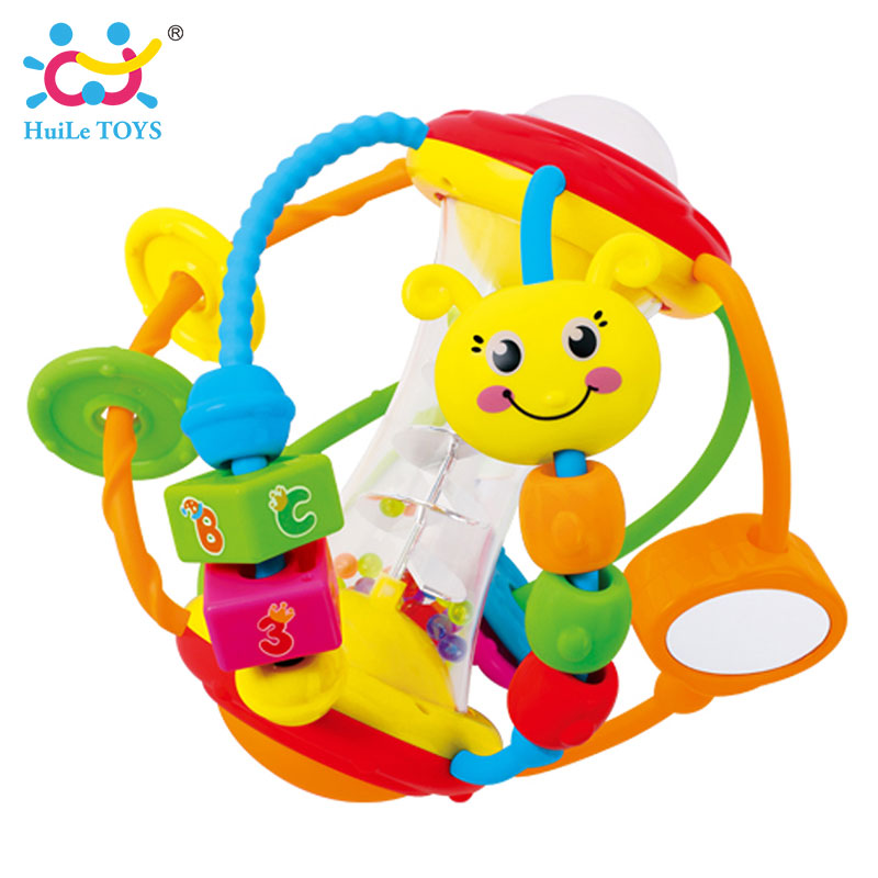 HUILE-TOYS-Baby-Toys-Ball-929-Baby-Rattles-Educational-Toys-for-Babies-Grasping-Ball-Puzzle-Multifunction-Bell-Ball-0-18-Months-1