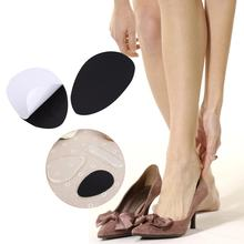 6 Pcs Transparent High Heel Shoes Gel Pads Silicone Insole Protection for Women anti-friction heel gel pad slim patch(China)