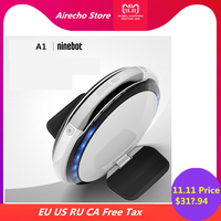 Original Ninebot One A1 One Wheel Self Balancing Scooter Support Single Dual Batteries Smart Electric Unicycle Hover Skate Board