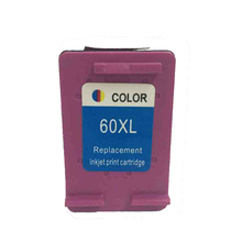 vilaxh 60XL Color Refilled Ink Cartridge Compatible For HP 60 XL Deskjet F4583 F2480 F4480 PhotoSmart C4680 C4683 printer