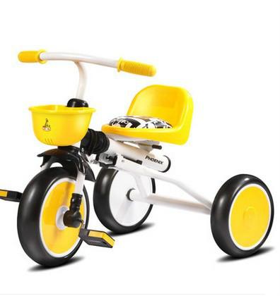Juguetes de los niños triciclo bebé bicicleta cochecito de bebé cochecito de bebé plegable de la bicicleta portátil