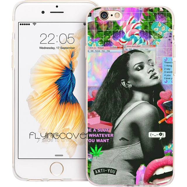 rihanna coque iphone x