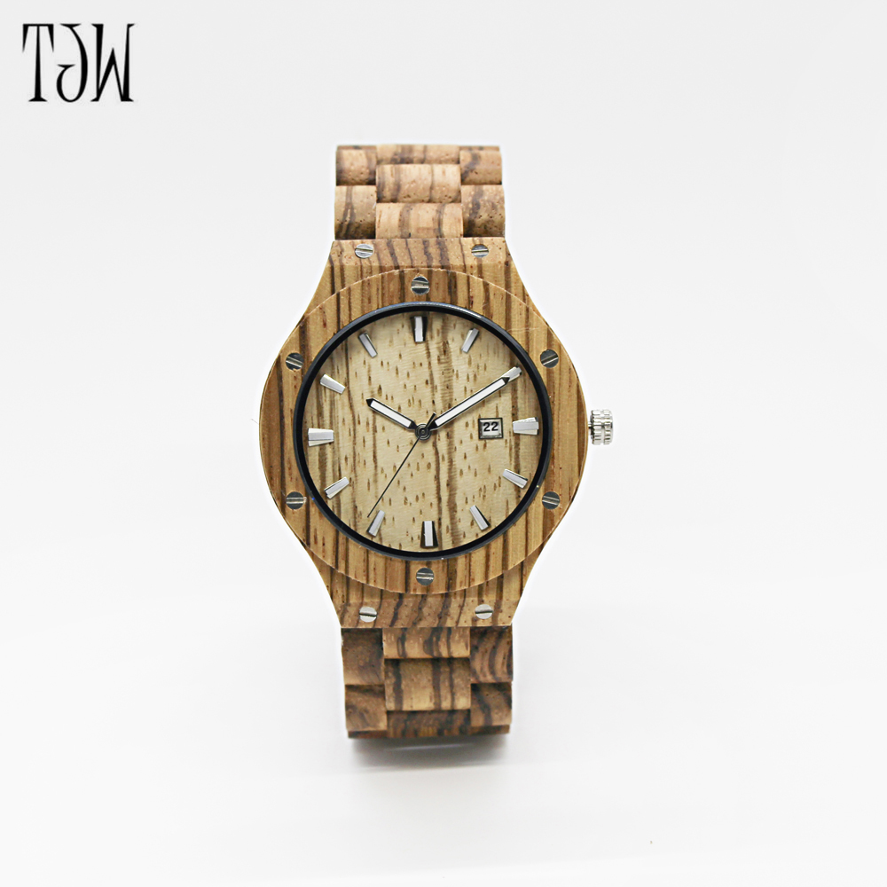 Fashion Nature Wood Wrist Watch Analog Sport Bamboo brown Genuine Leather Strap For Men Women Gift Luxury Wooden Bamboo watch голень сидя bronze gym h 029