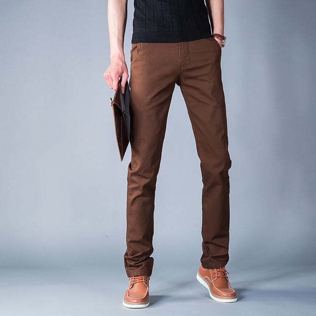 Image result for brown pants men