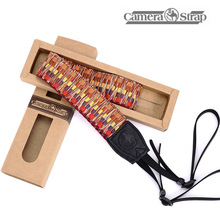 Photo DLSR Pure Cotton Colorful Pattern Camera Shoulder Neck Sling Hand