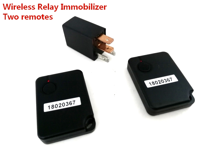 Car 12V Immobilizer Wireless Factory Relay Replacement Anti-theft System Vehicle Security Anti Hijacking Lock For Japanese Car