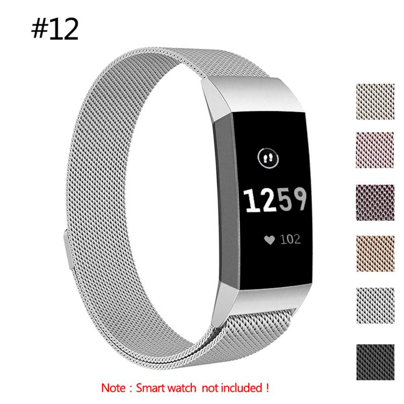 Latest Premium Milanese Replacement Stainless Steel Watch Band Wrist Strap for Fitbit Charge3 Smart Watch for Fitbit Charge 3 стоимость