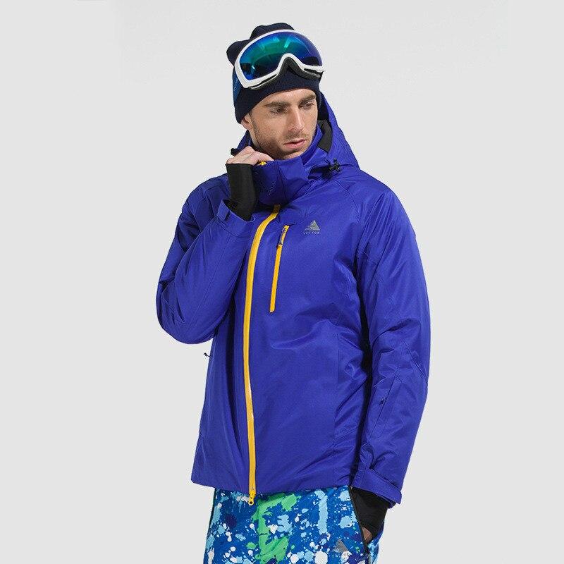 Traje de esquí para hombres al aire libre, chaqueta de esquí de escalada deportiva de secado rápido resistente al desgaste y al calor para hombres - 2