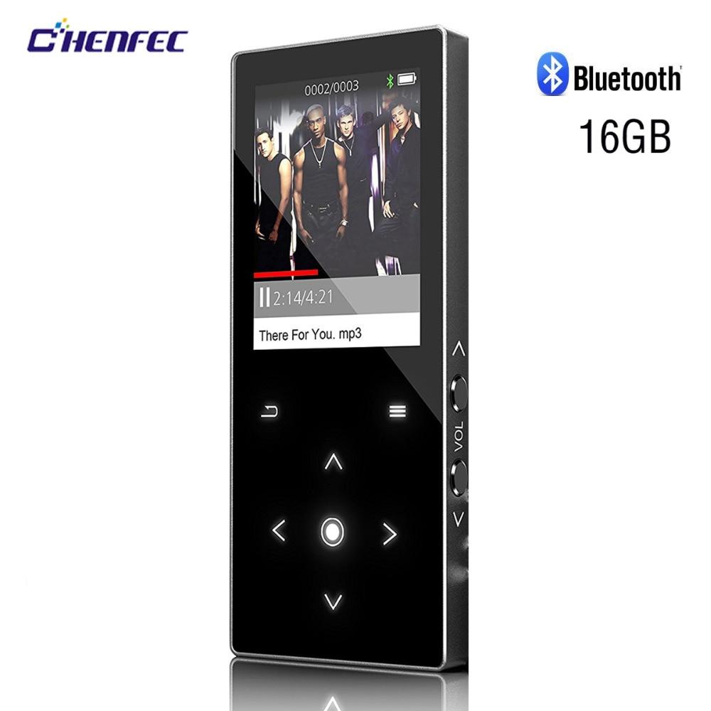 MP3 Lettore Bluetooth 4.0 con Altoparlante 16 gb Senza Perdita di Suono del  Giocatore di Musica del Metallo di Tocco Schermo da 1.8 pollici Radio FM  Ebook ... db05f3f571d6