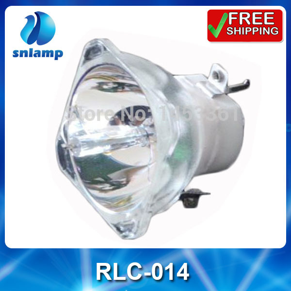 Compatible bare projector lamp bulb RLC-014 for PJ402D-2 PJ458D free shipping compatible bare projector bulb p vip330 1 0 e20 9 rlc 081 for pjd7333 pjd7533w