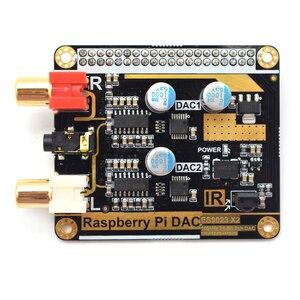 Image 2 - Lusya volumio mode framboise Pi DAC framboise Pi 3B + HIFI double décodage DAC I2S F6 006