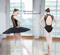 Adult Sexy Black Gymnastics Leotards Dance Ballet Leotard For Women Backless Dance Clothing