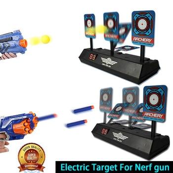 Objetivo eléctrico de reinicio automático de puntaje de alta precisión DIY para Nerf gun accesorios juguetes para deportes de diversión al aire libre regalos de Año Nuevo TSLM1