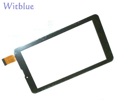 New touch Screen For 7 Irbis TZ55 Tablet Touch Panel Glass Sensor Digitizer Replacement Free Shipping tempered glass protector new touch screen panel digitizer for 7 irbis tz709 3g tablet glass sensor replacement free ship
