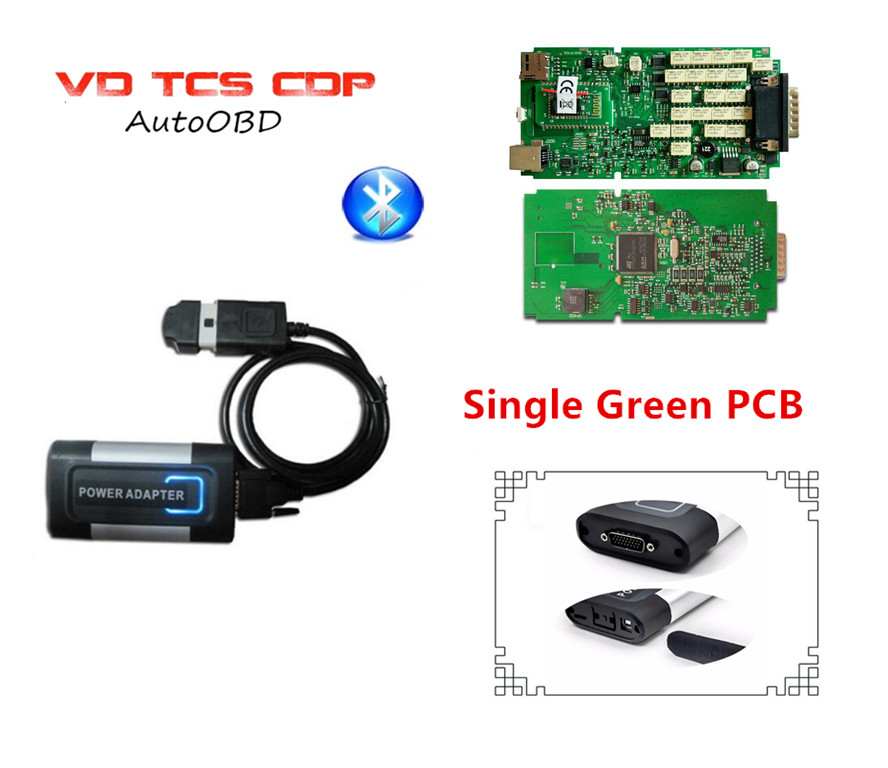 nec relays Single Green PCB VD TCS CDP for Autocoms Pro 2015R3 version with Bluetooth OBD2