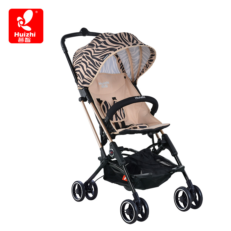 Hui Zhi Capsule Car Baby Stroller Portable Umbrella Four Wheel Shock Proof FoldingHui Zhi Capsule Car Baby Stroller Portable Umbrella Four Wheel Shock Proof Folding