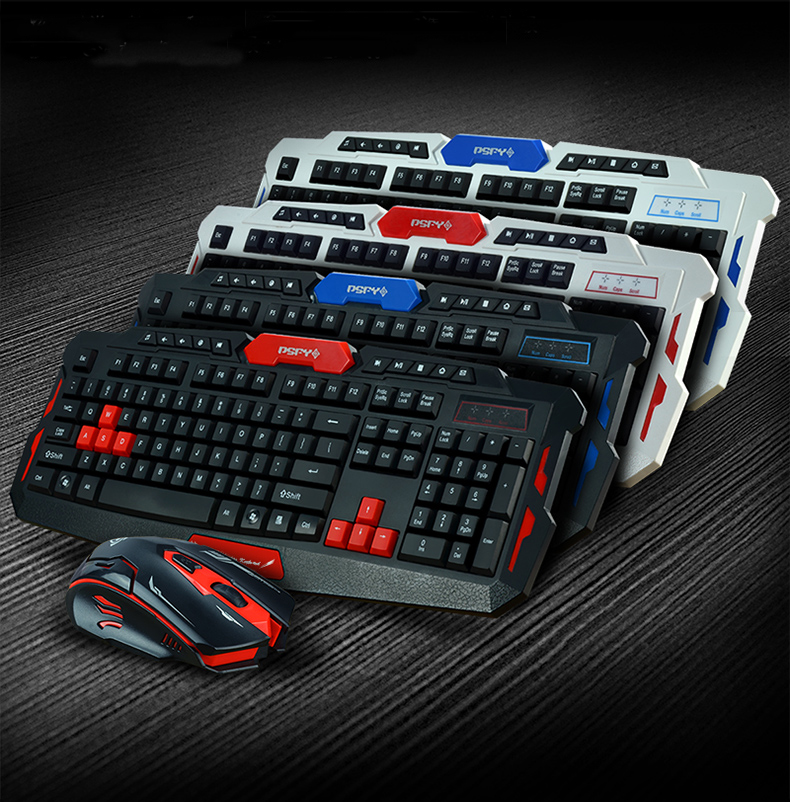 GETWORTH Wireless Keyboard And Mouse Combo 2.4 GHz Teclado E Mouse Ssem Fio Free Mouse Pad For Desktop Laptop Waterproof HK8100