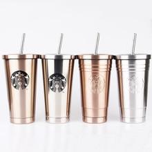2019 Starbucks с вакуумной изоляцией путешествия Кофе кружка Нержавеющаясталь стакан Пот Бесплатная Кофе чайная чашка термос бутылки воды