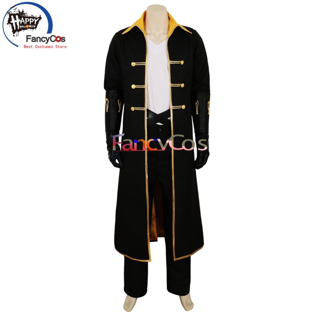 Halloween Castlevania Cosplay Alucard  Sypha Uniform Cosplay Costume Adult Deluxe High Quality Custom Made Anime Movie