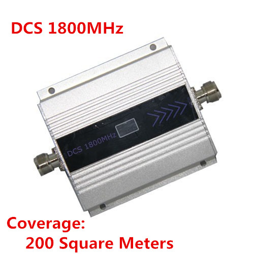 1PC LCD Family 4G GSM DCS 1800Mhz 1800 Cellphone Cell Phone Mobile Phone Signal Repeater Booster Amplifier Enhancer Cover 200m