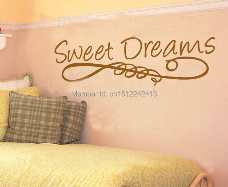 Lettering Large Sweet Dreams Baby Nursery wall decal home decoration ...