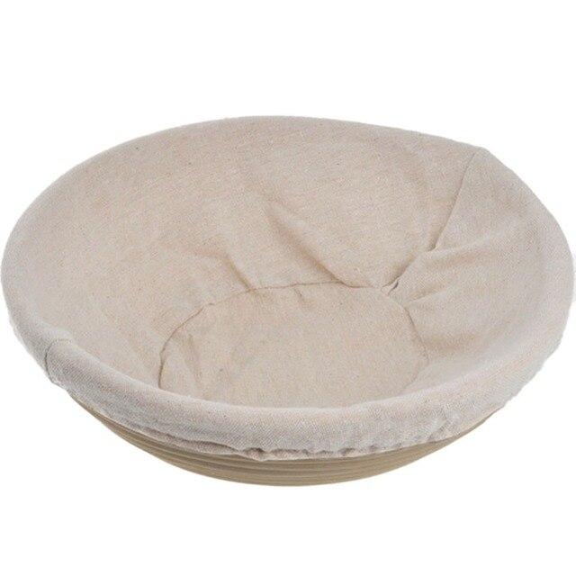 Durevole Rotondo Ovale Pasta Cesti In Rattan Basket Banneton Brotform Bowl Pane Lievitazione Lievitazione Strumenti di Cottura