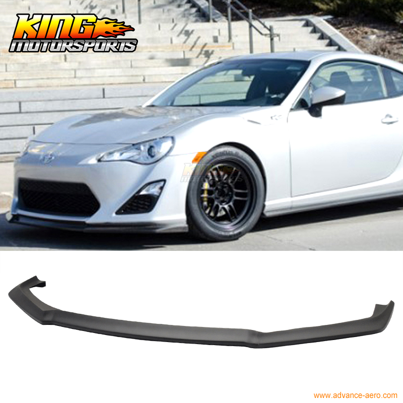 Fit For 2013 2014 2015 2016 Scion FRS GT86 CS Style Front Bumper Lip Chin Spoiler PU игрушка jada scion frs 84211 1