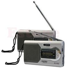 цена на OOTDTY  Universal Slim AM/FM Mini Radio World Receiver Stereo Speakers MP3 Music Player