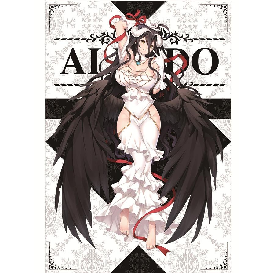 Newest design 150x200cm Flannel Overlord albedo Anime Blanket