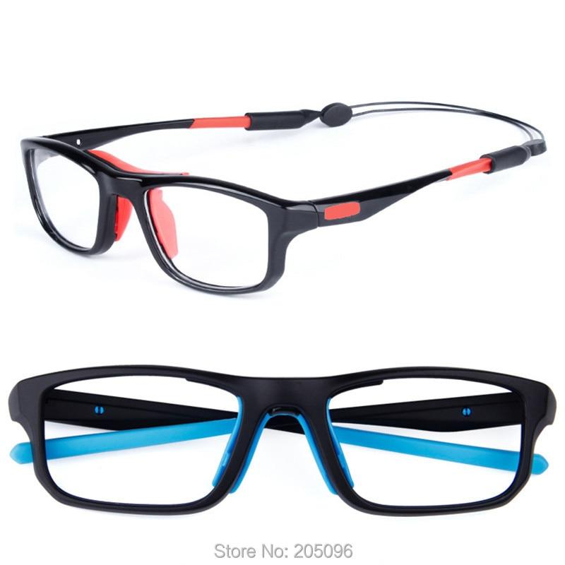 SL013 TR90 Sporting Prescription Glasses Light Weight Sport Eyeglasses With Adjustable Anti-slip Strap Football Eyewear