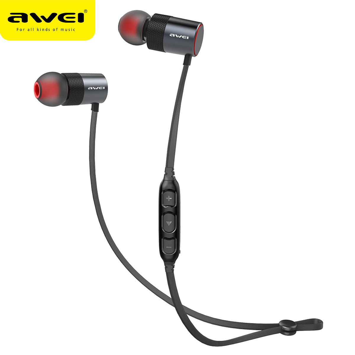 Awei AK2 Sport Wireless Bluetooth Earphone Stereo Earphone With Microphone Sweatproof Bass Headset For Earbuds For iPhone Xiaomi