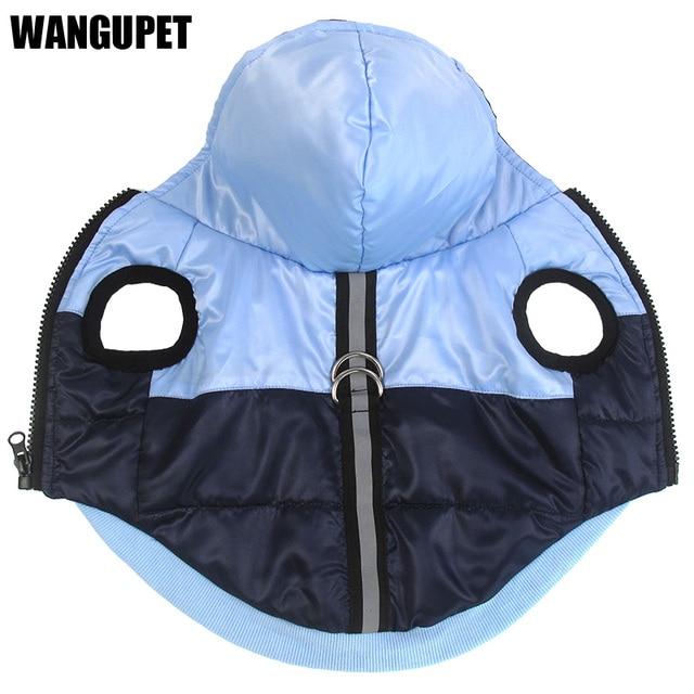Caldo cotone cappotto del cane Riflettente giacca Impermeabile inverno di spesso