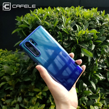 CAFELE Gradient Plating Case for huawei p30 pro Cover Transparent Silicone Luxury Aurora Soft TPU Phone