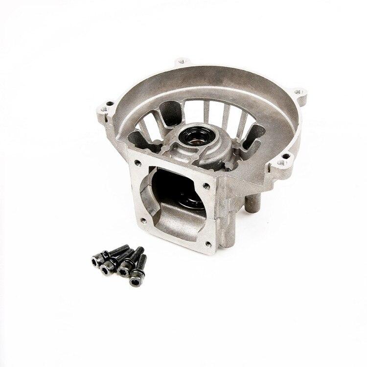 Carter 4 trous (y compris joint d'huile de roulement) pour 1/5 Rovan BAJA 45cc moteurs à gaz HPI KM Baja 5B 5 T 5SC LOSI 5ive-T RC pièces de voiture