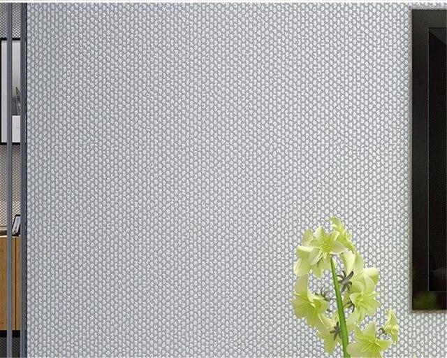 Beibehang Moderne Einfarbigen Flachs 3d Tapete Schlafzimmer ... Tapeten Wohnzimmer Gelb