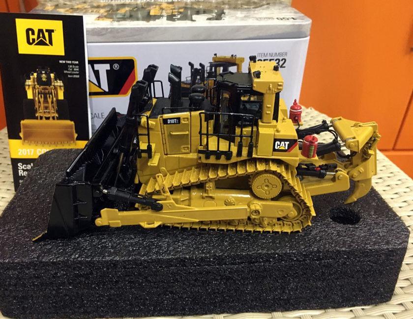 Caterpillar Cat D10T2 tracteur sur chenilles modèle en métal à l'échelle 1/50 par les maîtres moulés DM85532