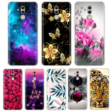 For Huawei Mate 20 Lite Cover Case TPU Painting Silicone Sof