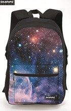 Women Galaxy Star Universe Space Backpacks Men Casual Travel Shoulder Bag Kids School Bag For Teenagers Schoolbag Mochila