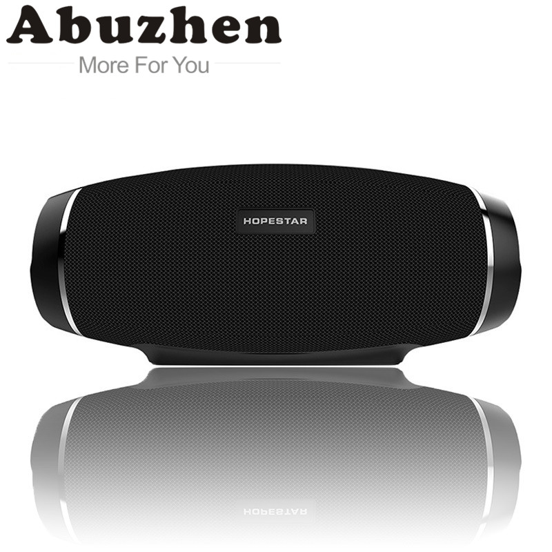 Abuzhen IP4 Waterproof Bluetooth Speaker Wireless Subwoofer Bass Stereo Shower Mp3 Player TF USB Mobile Power Bank Function a9 mini wireless bluetooth speaker w led hands free tf usb subwoofer loudspeakers portable 3 5mm mp3 stereo audio music player